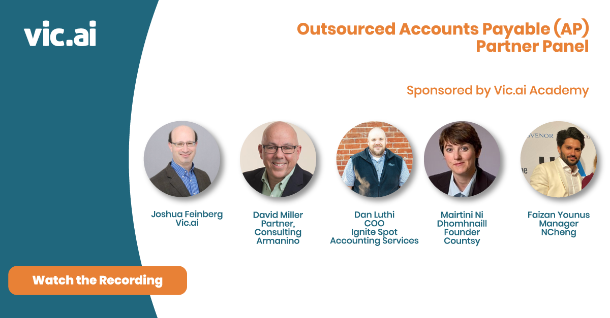 Watch the Outsourced Accounts Payable (AP) Partner Panel (Webinar Recording)